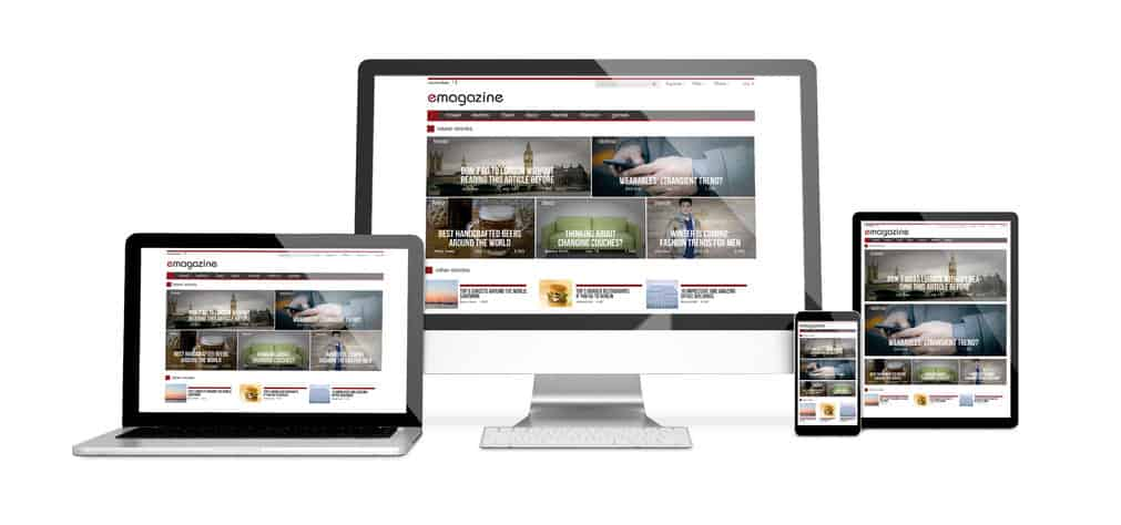 weboldal, honlap, modern, reszponzív